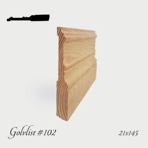 Golvlist #102