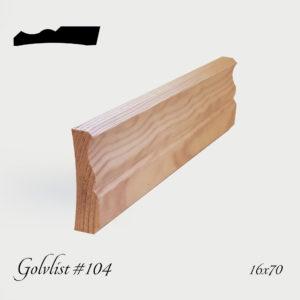 Golvlist #104