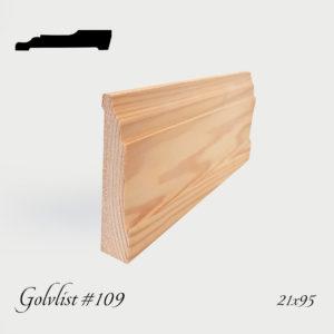 Golvlist #109