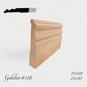 Golvlist #110
